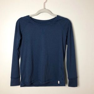 Marine Layer Blue Long Sleeve Top